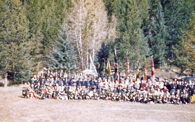 Kimberley Cubs And Scouts At Camp Stone Columbia Basin